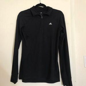 Adidas 3/4 zip sweater